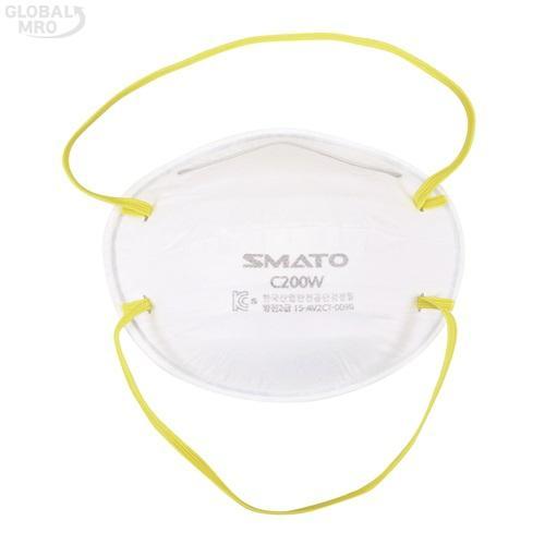 스마토 마스크 안면부 여과식 방진마스크 C200W(2급) /옵션 C200W(2급) 20EA