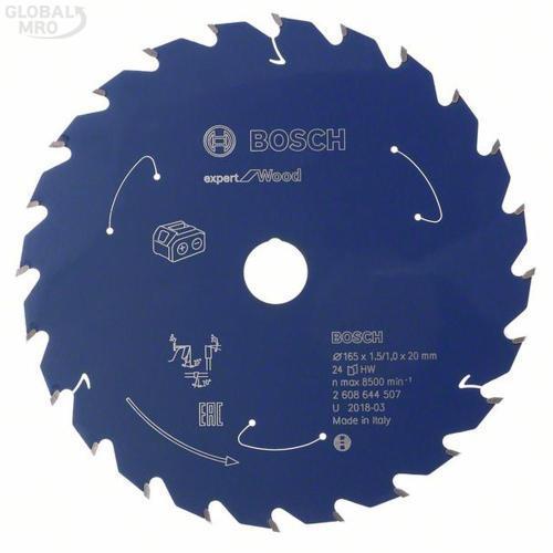보쉬 AC 팁쏘(목재용) 165(6 1/2인치)x24T(1.5) (507) 1EA