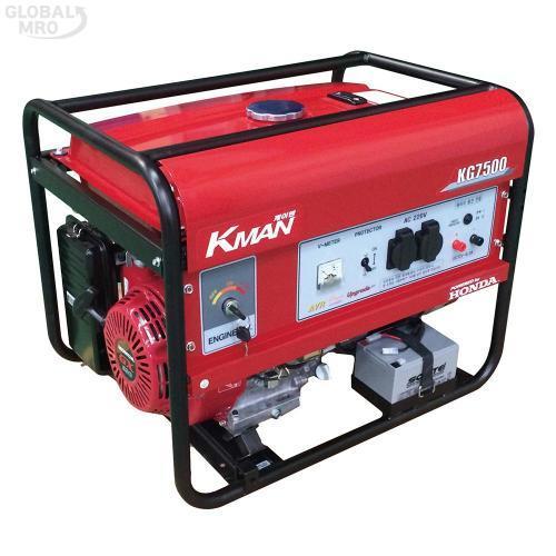 케이맨 발전기(가솔린) KG-7500EX /옵션 KG-7500EX 1EA