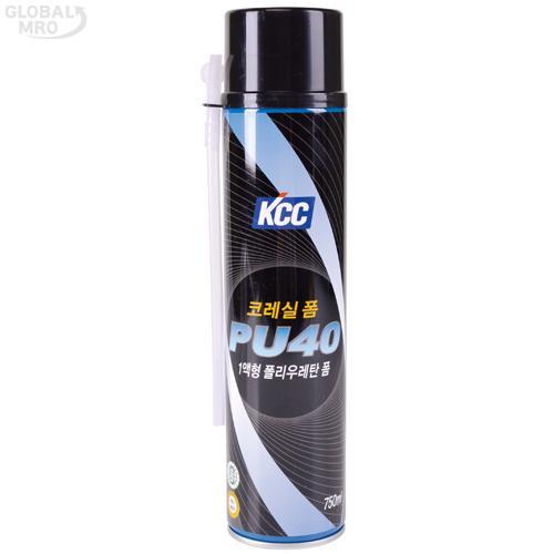 KCC 폴리우레탄폼 PU40A 750ml (B3) 15EA