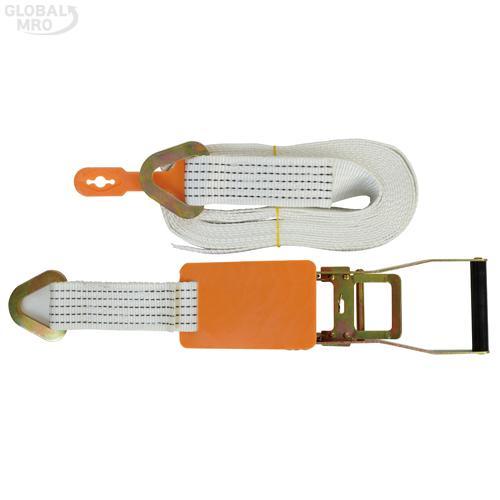주영 파워벨트 8M(삼각)흰색 1SET