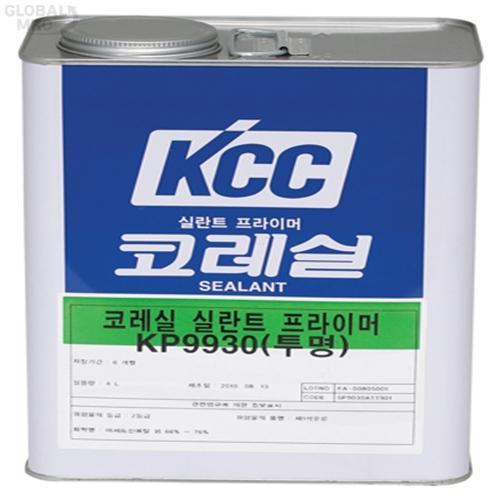 KCC 프라이머 KP9930 / 4L 경화촉진제 1EA